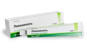 Левомеколь для лечения гнойных образований